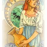 【水瓶座の満月】より普遍的な意識で過ごすために~西洋占星術&チャネリング~